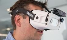 نظارة ثلاثية الأبعاد لهواتف آيفون