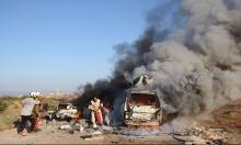 حماة: غارات جوية تقتل 53 مدنيا بينهم 16 طفلا