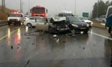 17 إصابة في حادثي سير قرب صفد