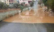 فيضانات وسيول في البلدات العربية