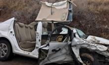 3 إصابات في حادث سير مروع قرب طبريا