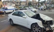 يافة الناصرة: إصابة في حادث طرق