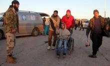 قافلة مهجرين ثانية في طريقها لخارج حلب