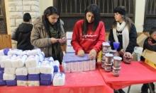 """الناصرة: """"سنبدأ"""" تعبئ الرزم الغذائيّة بمناسبة الأعياد"""