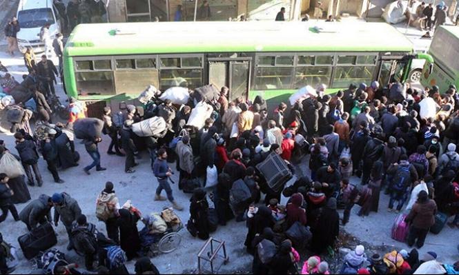 حلب: اتفاق جديد لاستكمال عمليات الإجلاء