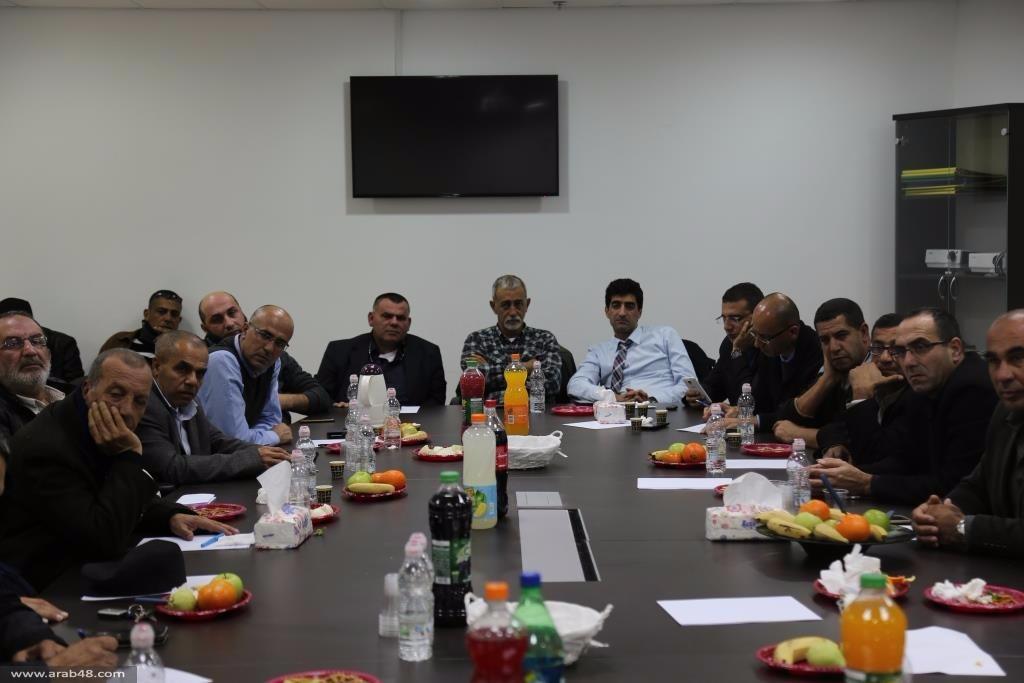 وادي عارة: اجتماع طارئ لبحث خطة هدم المنازل العربية