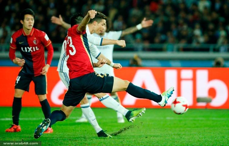 """ريال مدريد يتوّج بمونديال الأندية من """"هاتريك"""" كريستيانو"""
