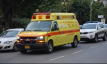 إصابتان في حادث بين شاحنتين