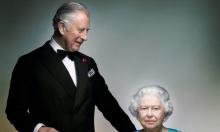 نشر صورة تجمع الملكة وولي العهد البريطاني (صورة)