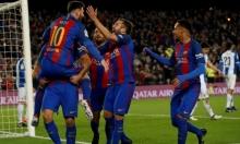 برشلونة يفوز بالديربي ويهين إسبانيول