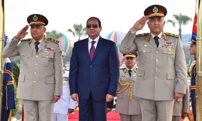 السيسي ينقلب على ضباط بالجيش المصري