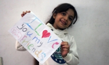 نجاة بانا العابد وعائلتها من الموت المخيم على حلب