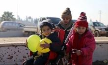 حلب: إجلاء 47 طفلا عانوا من الإصابات والجفاف