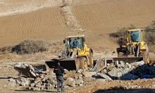 النقب: عمليات الهدم والتجريف تطال منازل وأرض زراعية