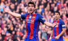 لاعب برشلونة يستفز كريستيانو وريال مدريد