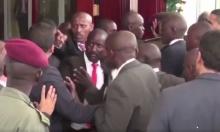 """الأمن الأوغندي """"يشتبك"""" مع حرس السيسي"""
