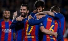 برشلونة يدك شباك هيركوليس بسباعية ويتأهل