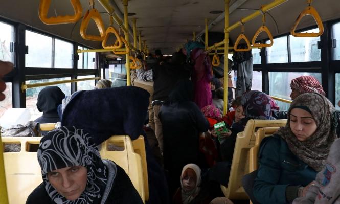 الإجلاء متواصل: الأمم المتحدة تحذر من حلب تالية