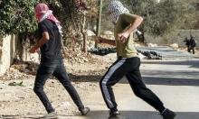 مخيم بلاطة: إصابة شاب واعتقال آخر