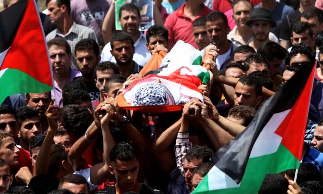مخيم الجلزون: تشييع فتى فلسطيني استشهد متأثرًا برصاص الاحتلال