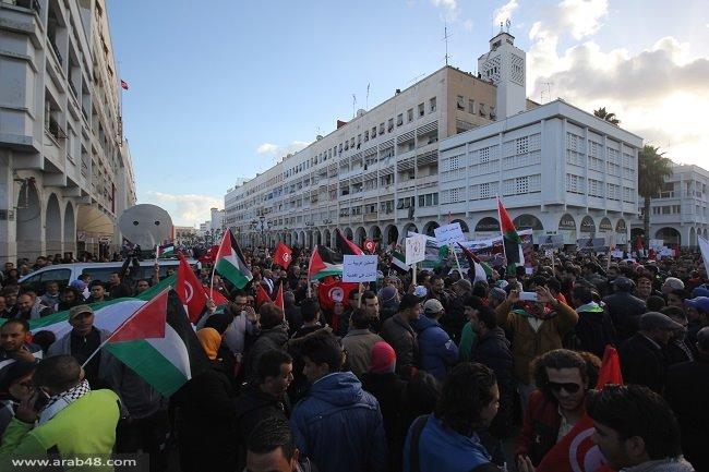 مسيرات غضب بتونس احتجاجا على اغتيال الزواري