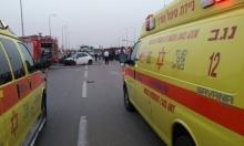 النقب: إصابتان إحداهما خطيرة في حادث انقلاب سيارة