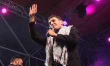 """عساف في الناصرة: """"أعتبر نفسي ابن هذه المدينة"""""""