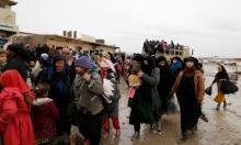 الأمطار تغرق مخيمات النازحين بالأنبار