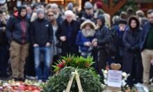 الألمان يقيمون صلوات الميلاد في مكان حادث الدهس