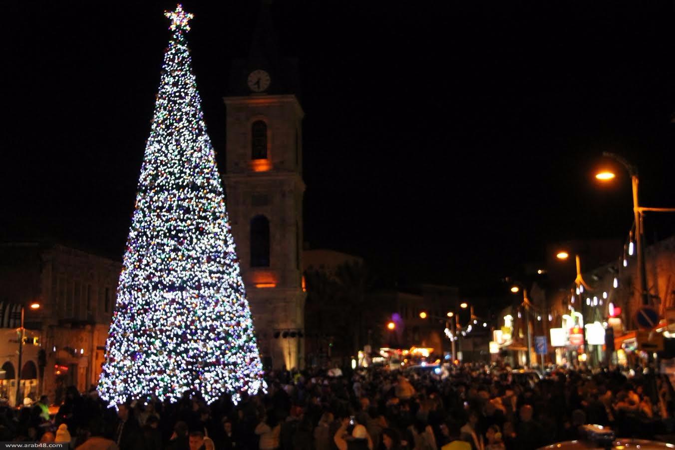يافا: أجواء بهيجة في عيد الميلاد المجيد