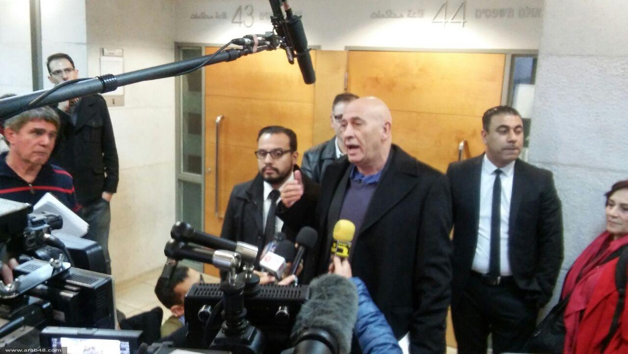 إحالة النائب غطاس للاعتقال المنزلي 10 أيام وكفالة 50 ألف شيكل