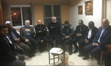 الحركة الإسلامية تزور النائب غطاس