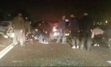 حادث سير يخلف 11 إصابة قرب المكر