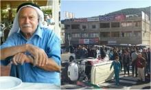دير حنا:مصرع مسن في حادث طرق