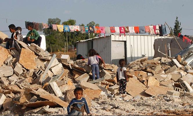 """الاحتلال يوقف الاتصالات مع الفلسطينيين البدو في المنطقة """"ج"""""""
