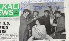 """بيع تواقيع مزورة لفرقة """"بيتلز"""" على غلاف مجلة في مزاد"""