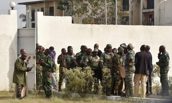 تمرد للجيش بساحل العاج وجنود يحتجزون وزير الدفاع