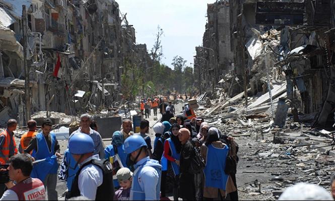 نداء لجمع 411 مليون دولار للفلسطينيين في سورية