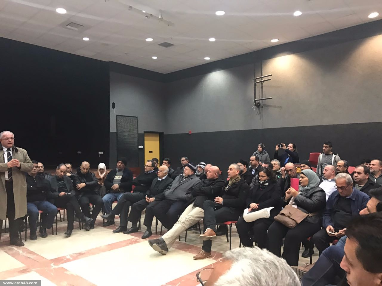اجتماع طارئ في قلنسوة: تأكيد على إنجاح الإضراب