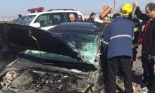 4 إصابات في حادث طرق قرب صندلة