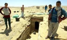العثور على 12 مقبرة فرعونية في أسوان