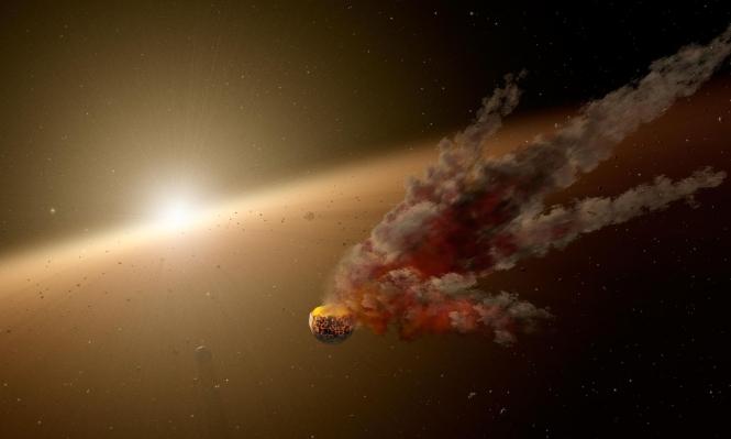 دراسة قد تنسف نظرية الاصطدام العملاق لتكون القمر