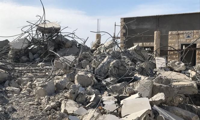 حقوق الإنسان: هدم منازل قلنسوة جريمة خطرة وإمعان في العدوان