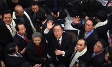 بان كي مون يؤكد طموحاته لرئاسة كوريا الجنوبية