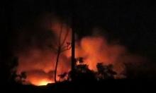 إسرائيل تقصف مطار المزة قرب دمشق