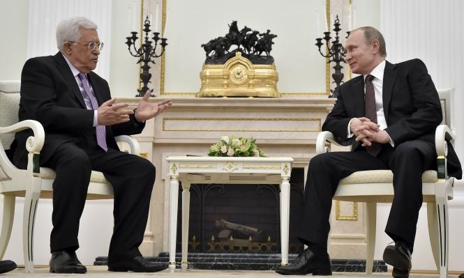 عباس يطلب مساعدة بوتين لمنع نقل السفارة الأميركية