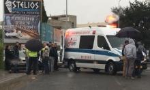 كفر ياسيف: إصابة سائق دراجة نارية في حادث سير