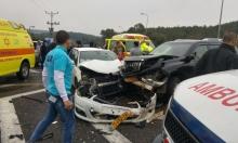 6 إصابات في حادث سير على مفرق شعب