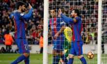 برشلونة يسحق لاس بالماس بخماسية نظيفة