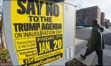 انطلاق أسبوع الاحتجاجات قبيل تنصيب ترامب